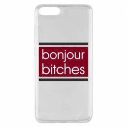 Чехол для Xiaomi Mi Note 3 Bonjour bitches