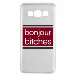Чехол для Samsung A3 2015 Bonjour bitches