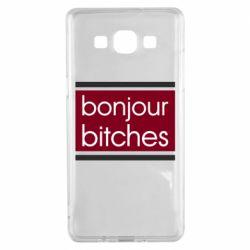 Чехол для Samsung A5 2015 Bonjour bitches