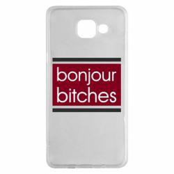 Чехол для Samsung A5 2016 Bonjour bitches