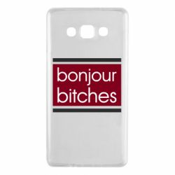 Чехол для Samsung A7 2015 Bonjour bitches