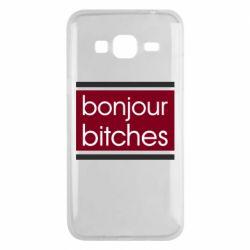 Чехол для Samsung J3 2016 Bonjour bitches