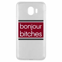 Чехол для Samsung J4 Bonjour bitches
