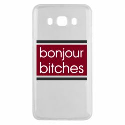 Чехол для Samsung J5 2016 Bonjour bitches