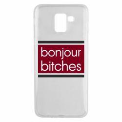 Чехол для Samsung J6 Bonjour bitches