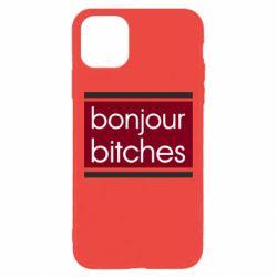 Чехол для iPhone 11 Pro Max Bonjour bitches