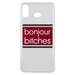 Чехол для Samsung A6s Bonjour bitches