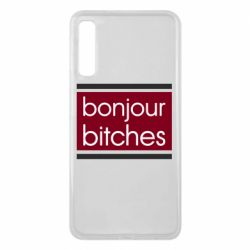 Чехол для Samsung A7 2018 Bonjour bitches