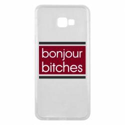 Чехол для Samsung J4 Plus 2018 Bonjour bitches