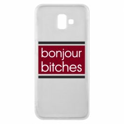 Чехол для Samsung J6 Plus 2018 Bonjour bitches
