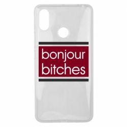 Чехол для Xiaomi Mi Max 3 Bonjour bitches