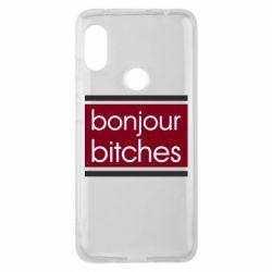 Чехол для Xiaomi Redmi Note 6 Pro Bonjour bitches