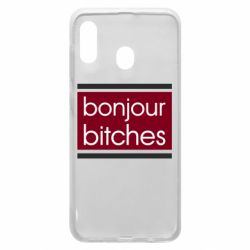 Чехол для Samsung A20 Bonjour bitches