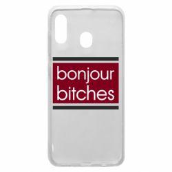 Чехол для Samsung A30 Bonjour bitches