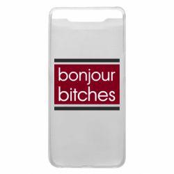 Чехол для Samsung A80 Bonjour bitches