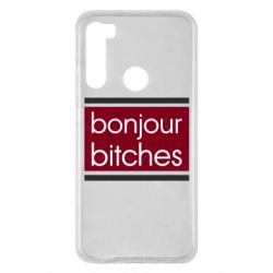 Чехол для Xiaomi Redmi Note 8 Bonjour bitches