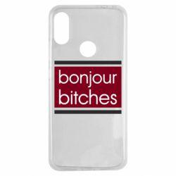 Чехол для Xiaomi Redmi Note 7 Bonjour bitches