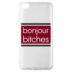 Чехол для Xiaomi Redmi Go Bonjour bitches