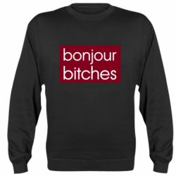 Реглан (свитшот) Bonjour bitches