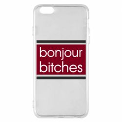 Чехол для iPhone 6 Plus/6S Plus Bonjour bitches