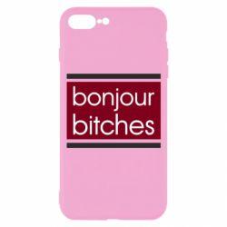 Чехол для iPhone 7 Plus Bonjour bitches
