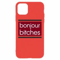 Чехол для iPhone 11 Bonjour bitches