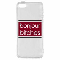 Чехол для iPhone5/5S/SE Bonjour bitches
