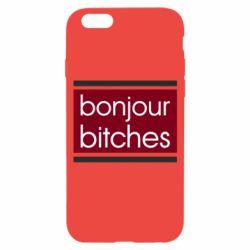 Чехол для iPhone 6/6S Bonjour bitches