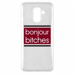 Чехол для Samsung A6+ 2018 Bonjour bitches