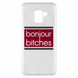 Чехол для Samsung A8 2018 Bonjour bitches