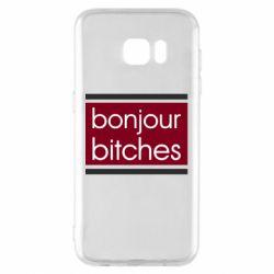 Чехол для Samsung S7 EDGE Bonjour bitches