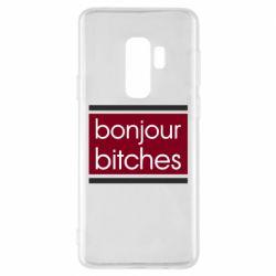 Чехол для Samsung S9+ Bonjour bitches