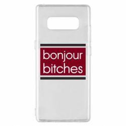 Чехол для Samsung Note 8 Bonjour bitches
