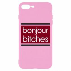 Чехол для iPhone 8 Plus Bonjour bitches