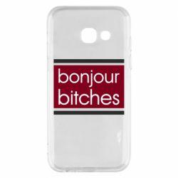 Чехол для Samsung A3 2017 Bonjour bitches