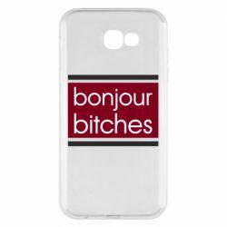 Чехол для Samsung A7 2017 Bonjour bitches