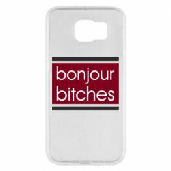 Чехол для Samsung S6 Bonjour bitches