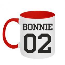 Кружка двоколірна 320ml Bonnie 02