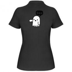 Женская футболка поло Boo
