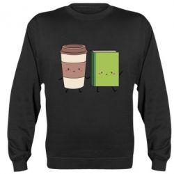 Реглан (свитшот) Book & Coffee
