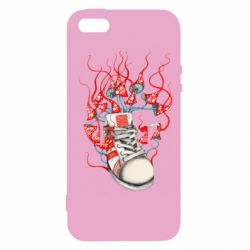 Чохол для iphone 5/5S/SE Boot and toadstools