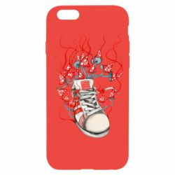 Чохол для iPhone 6/6S Boot and toadstools