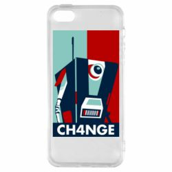 Чохол для iphone 5/5S/SE Borderlands CH4NGE Claptrap
