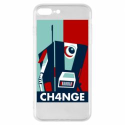 Чохол для iPhone 8 Plus Borderlands CH4NGE Claptrap