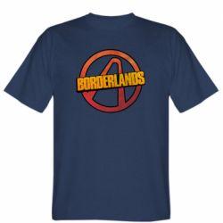Мужская футболка Borderlands logotype
