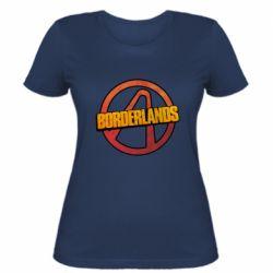 Женская футболка Borderlands logotype