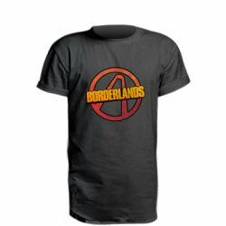 Удлиненная футболка Borderlands logotype