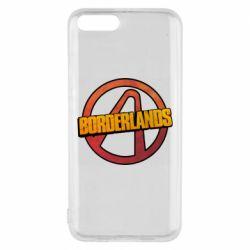 Чехол для Xiaomi Mi6 Borderlands logotype