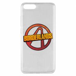 Чехол для Xiaomi Mi Note 3 Borderlands logotype