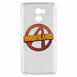 Чехол для Xiaomi Redmi 4 Borderlands logotype